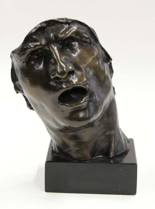 6100: Bronze, after of Auguste Rodin