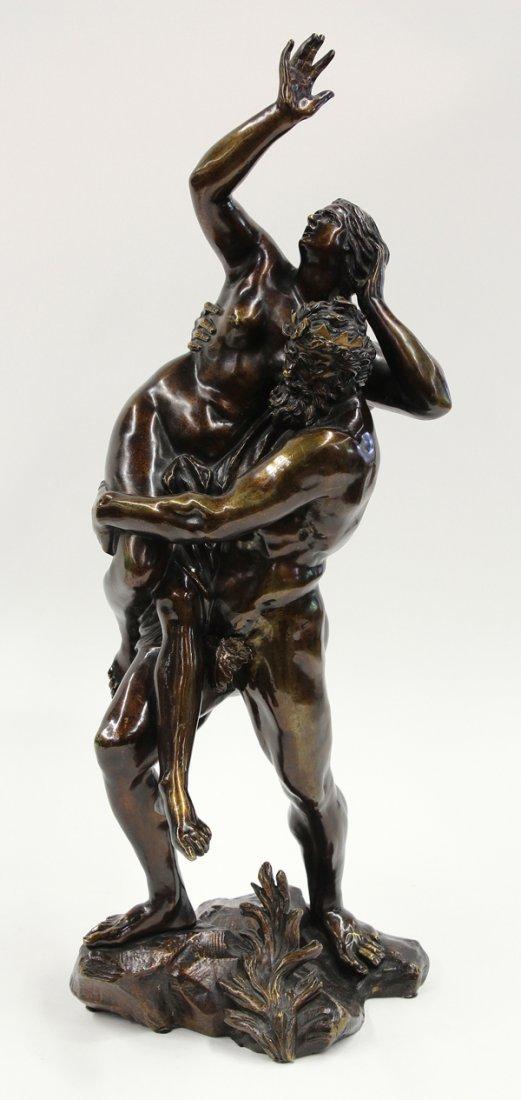 6104: Bronze, Proserpine and Pluto, Italian School