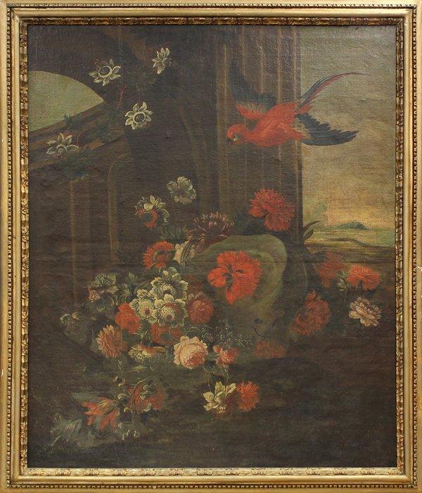 6106: Painting, Dutch School, 18th century, Still Life