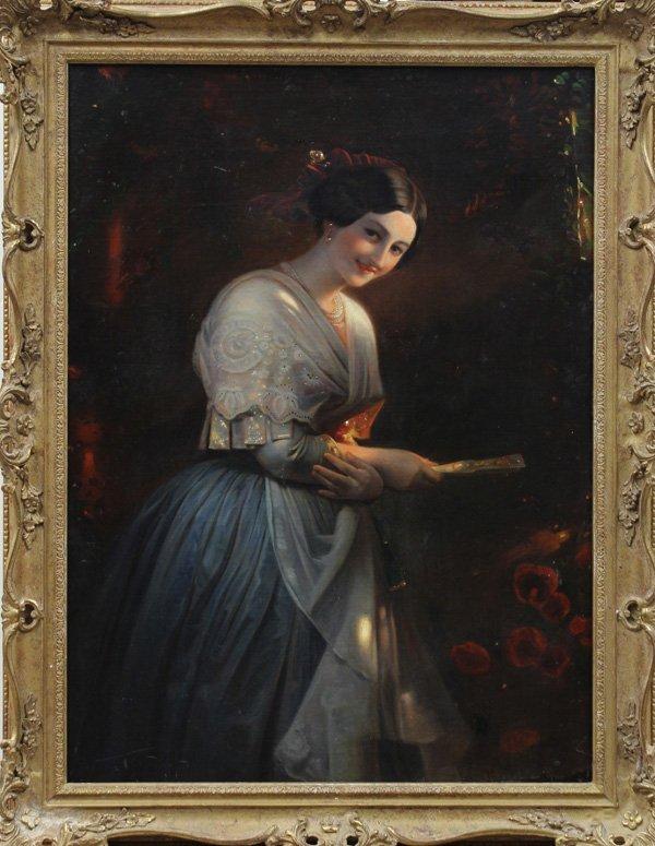 6108: Painting, Italian School, 19th century