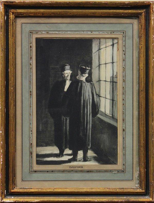 6111: Watercolors by Honoré Daumier