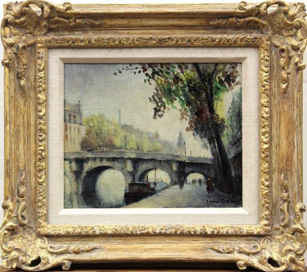 6112: Painting, Louis Dali, Paris, Le Pont Neuf