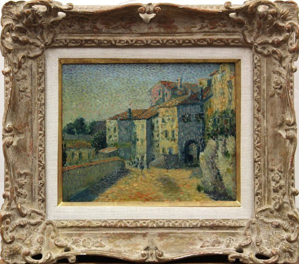6113: Painting, attributed to Maximilien Luce