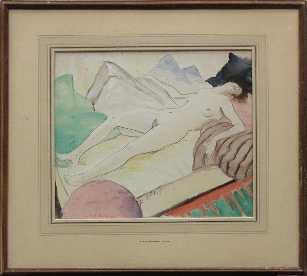 6117: Watercolor, Christopher Richard Wynne Nevinson