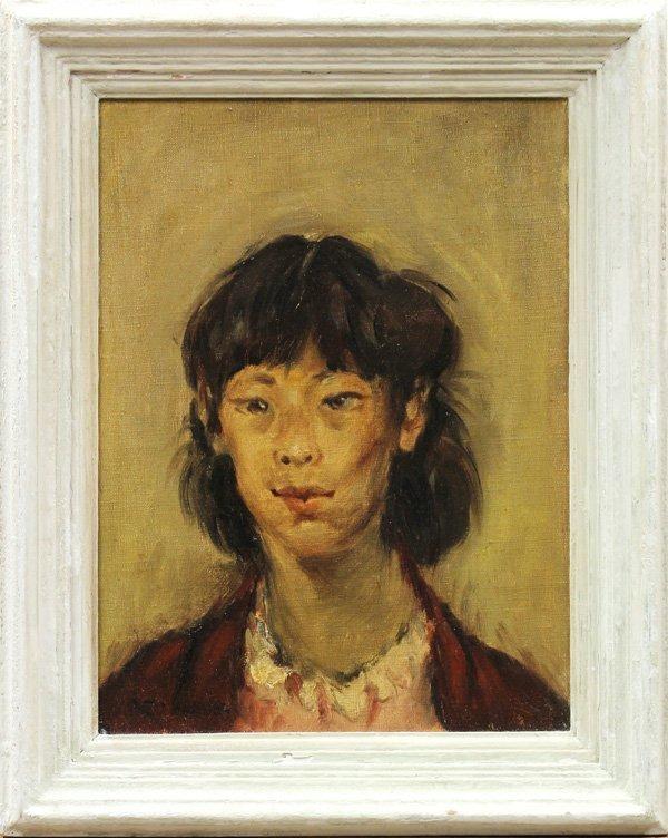 6120: Painting, George Chann, Portrait