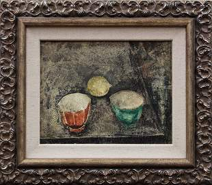 6126: Painting, Max Weber, Chinese Cups