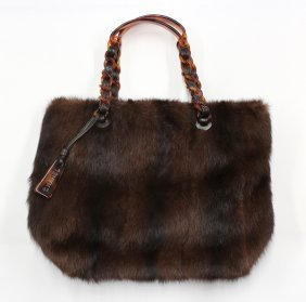 Chanel Mink Handbag