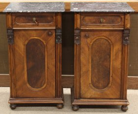 French Marble Top Commodes
