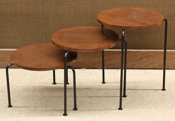 6356: Luther Conover nesting tables
