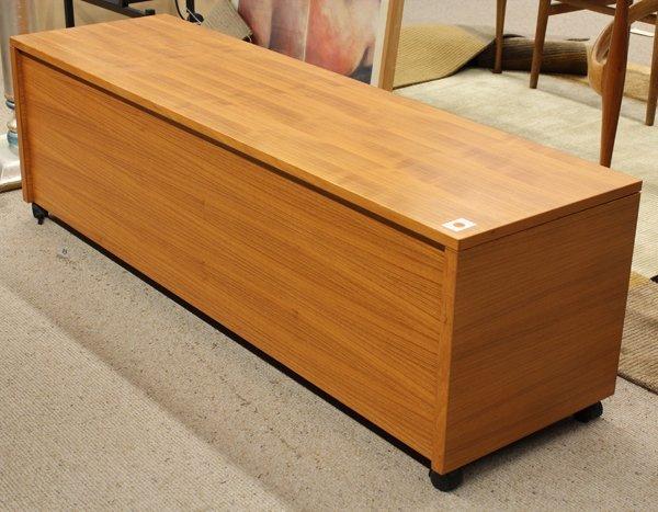 6364: Danish Modern blanket chest