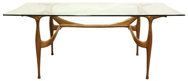 6366: Dan Johnson Studio 'Gazelle' Table