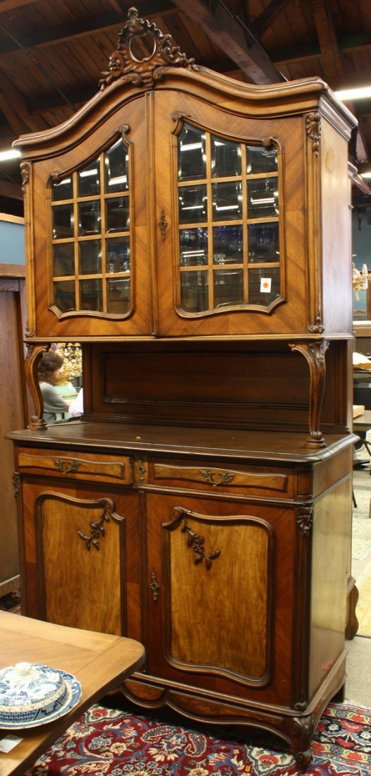 6376: Louis XV style buffet