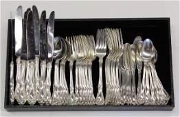 6491: American sterling flatware service