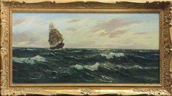 4238: Painting, Gerhard Lukas-Larsen