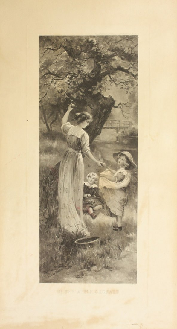 4386: Photogravures, after Lilian Murray, British