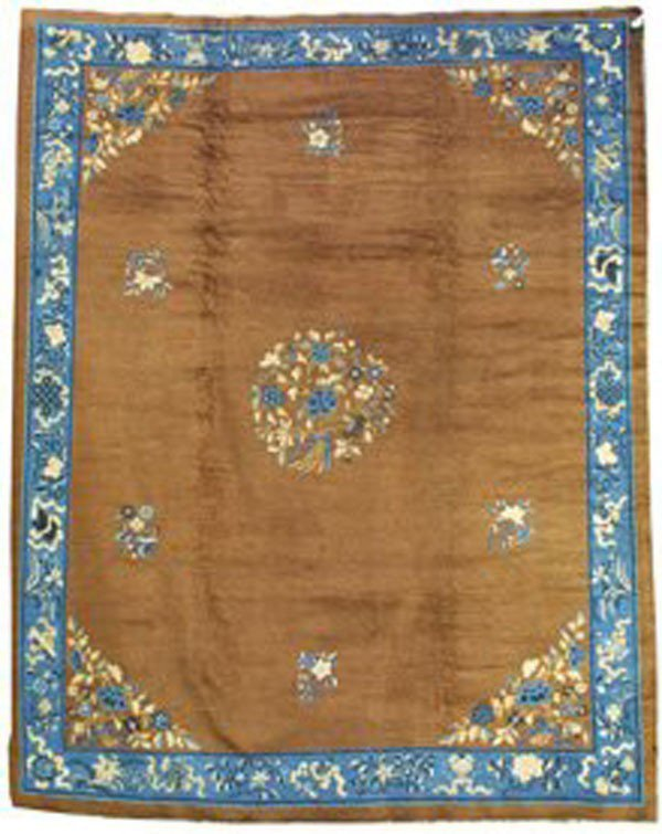 8: Chinese Peking carpet