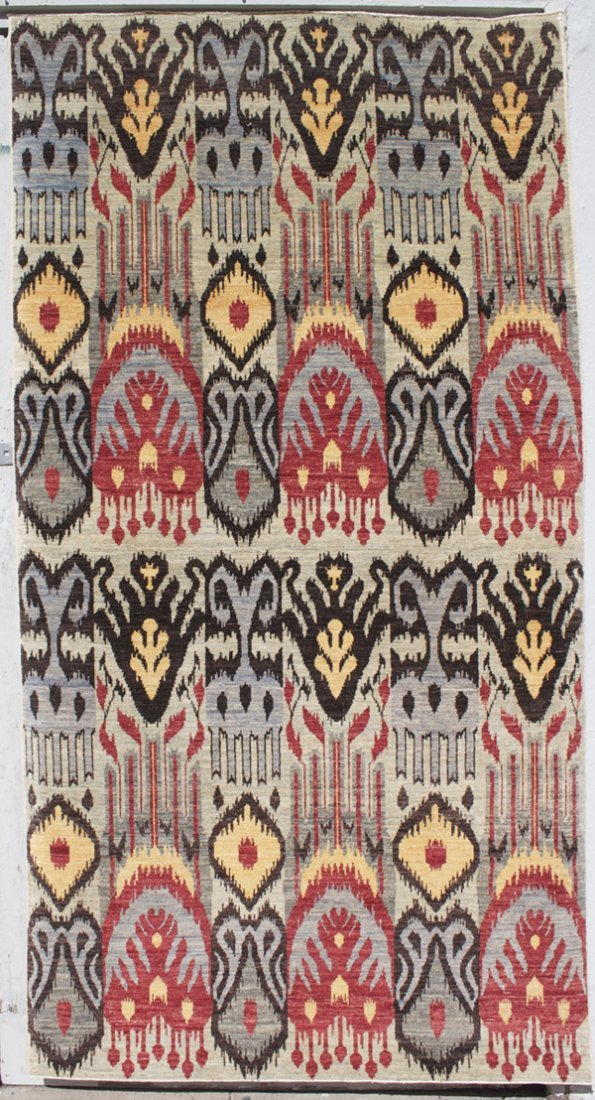 15: Large Ikat designed carpet