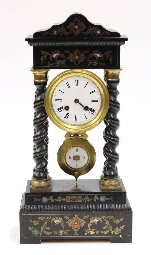2016: French Mantle Clock