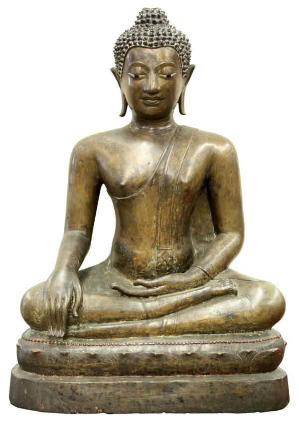 3012: Thai Bronze Figure of the Buddha