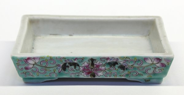 13: Chinese Enameled Porcelain Flower Container