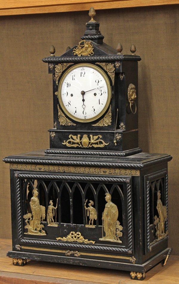 6011: Napoleon III hall clock