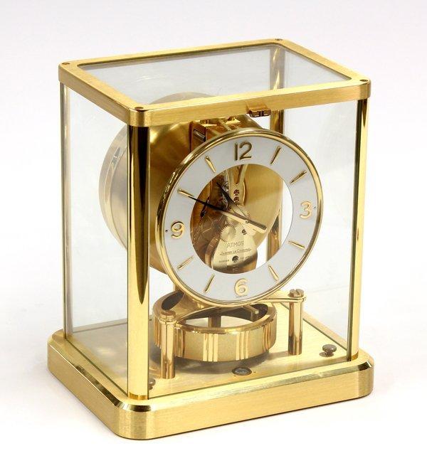 6023: Le Coultre atmos clock