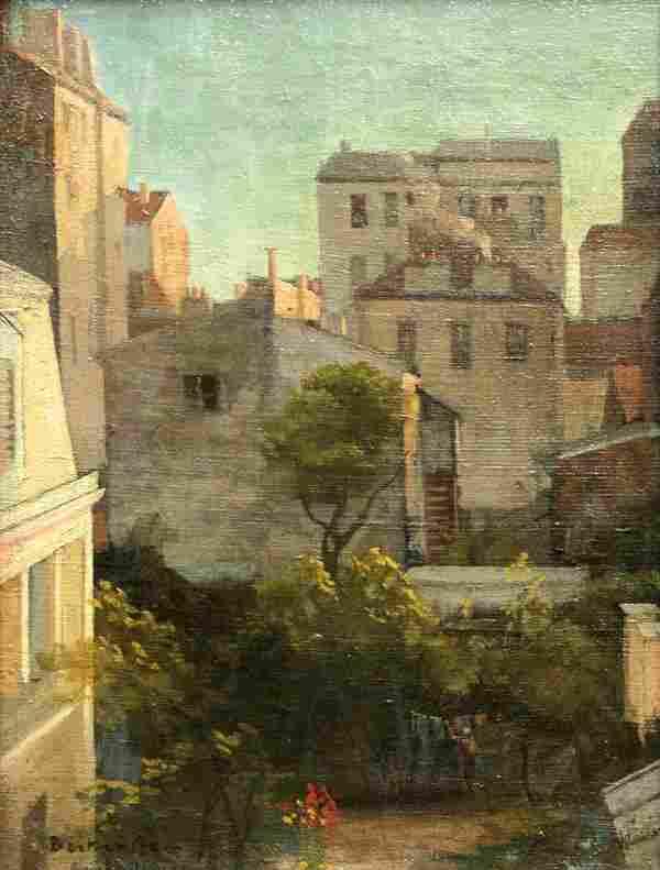 6162: Painting, Antal Berkes