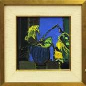 6196: Painting, Henrietta Berk, Tulips