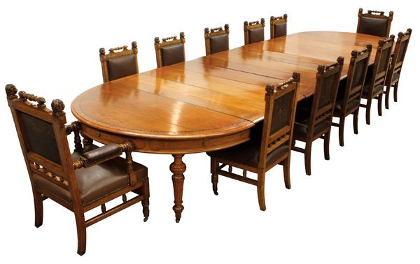 6293: Pottier and Stymus dining suite