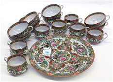 4020 Group of Chinese Rose Medallion
