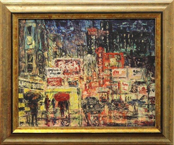 4092: Painting, George Yelich, Manhattan