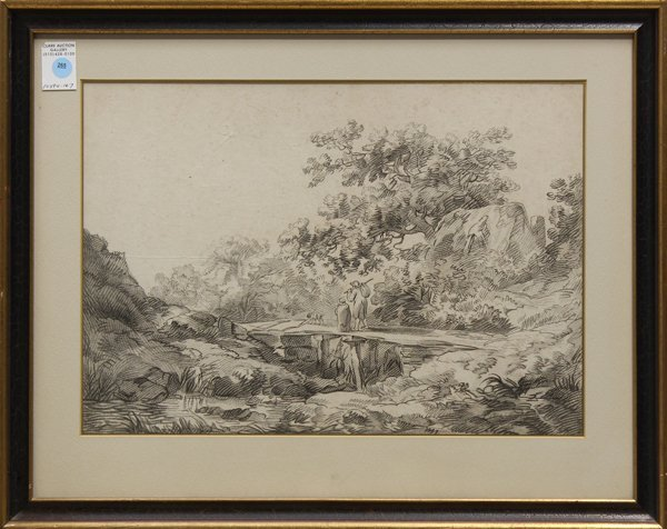 4207: Soft ground etching, after Thomas Gainsborough, T
