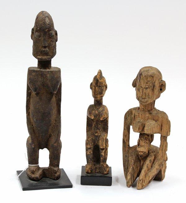 2008: Dogon figural sculptures