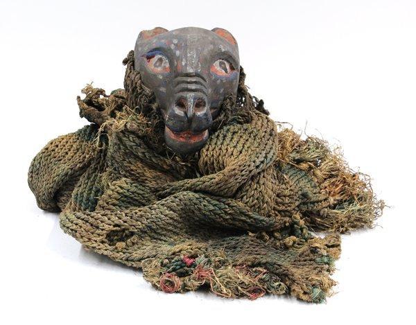 2017: Animal Dance Mask, possibly Ibibio, Nigeria