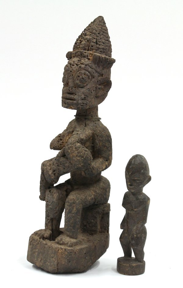 2018: African wood carved figures