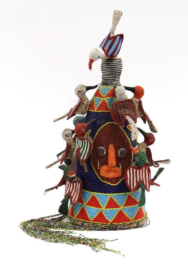 2019: Beaded Crown, Yoruba, Nigeria
