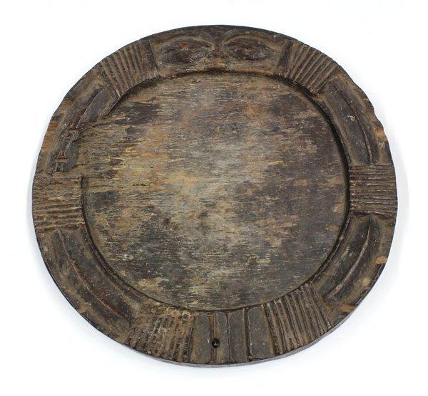 2020: Divination Platter, Yoruba, Nigeria