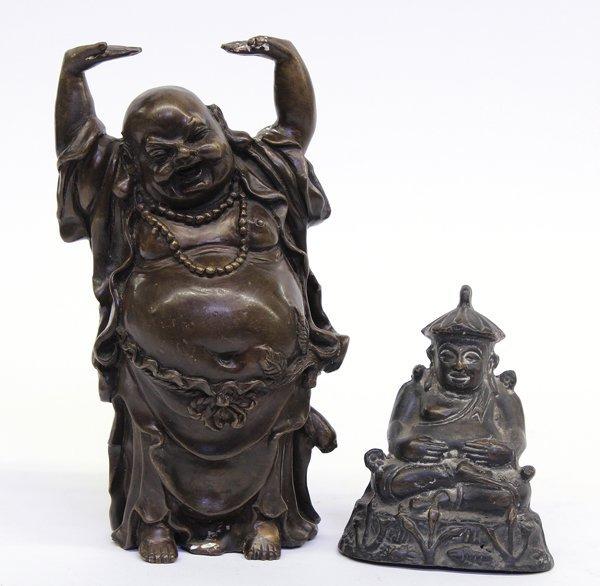 6: Asian Bronze Budai