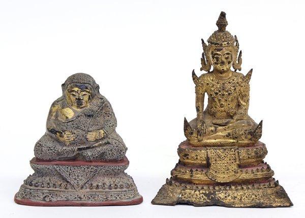 7: Thai Gilt Bronze Buddha