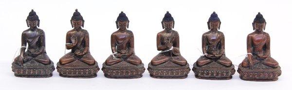11: Nepalese Copper Buddhas