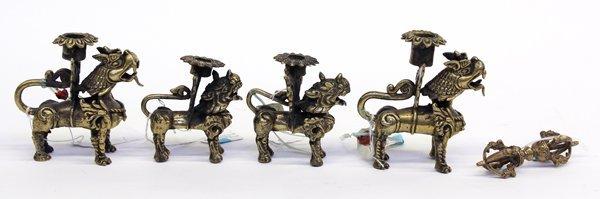 12: Nepalese Bronze Items