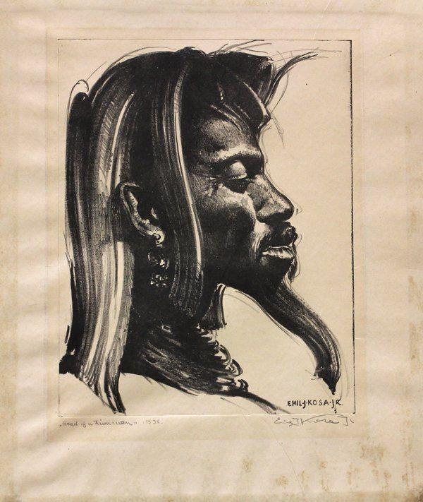439: Lithograph, Emil Jean Kosa Junior