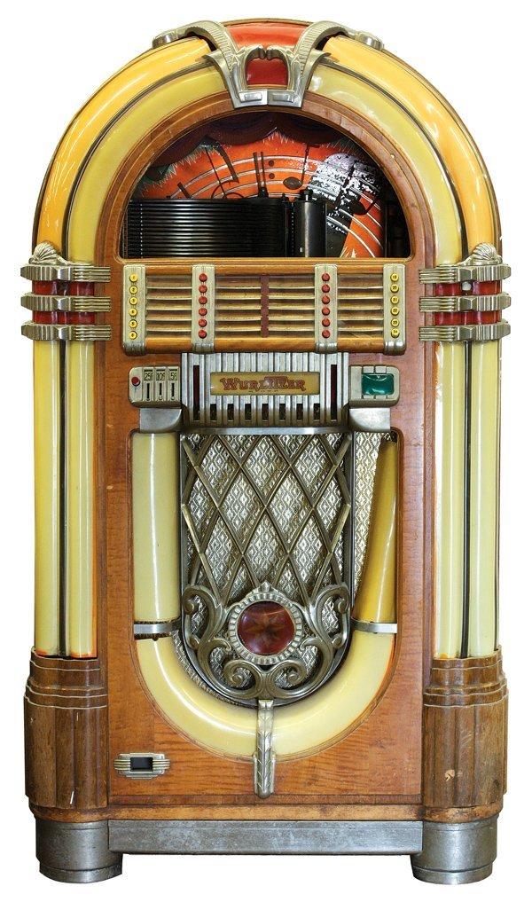 717: 1946 Wurlitzer juke box