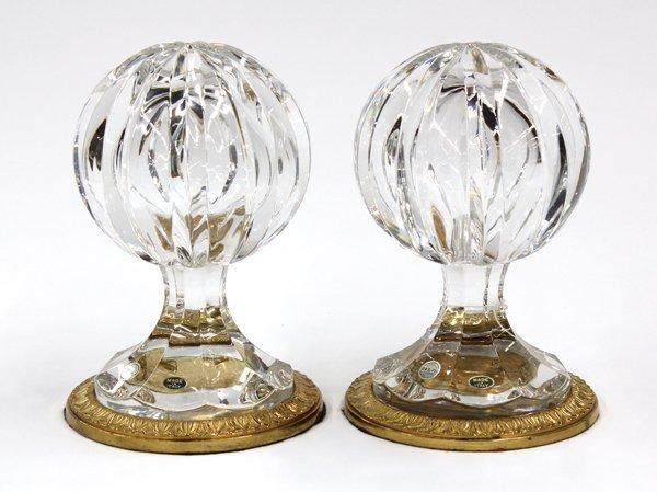 6003: Italian crystal sculptures