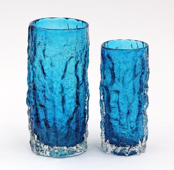 6004: Mid Century art glass vases