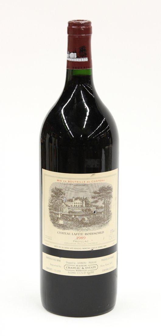 6014: 1989 Lafite Rothschild magnum