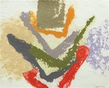 6210: Handmade Paper, Friedel Dzubas, Abstract