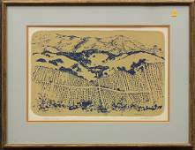 6232 Lithograph Dorr Bothwell Vineyard