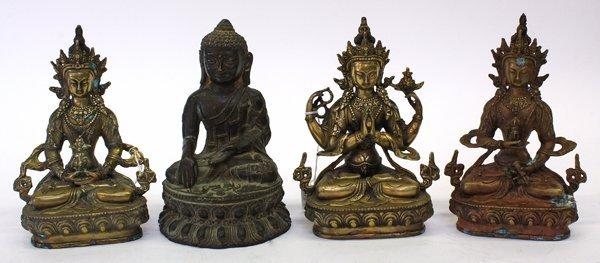 4001: Himalyan Tara and Buddha Figures