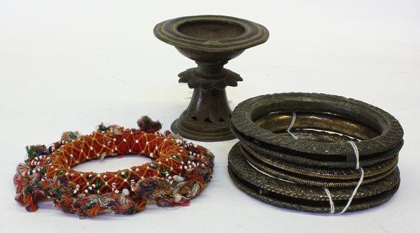 4002: Indian Oil Lamp and Dancing Bangles